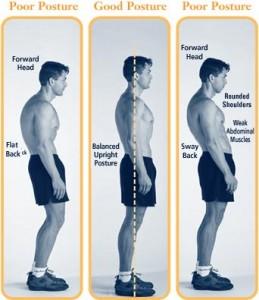correcting posture through physio exercises