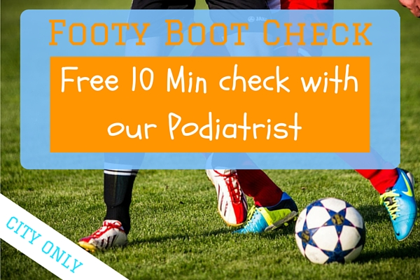 FREE 10 minute footy boot check