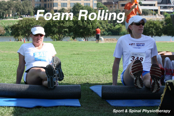 Easy Foam Rolling Exercises