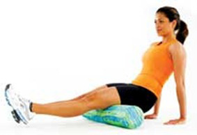 hamstring stretch foam roller