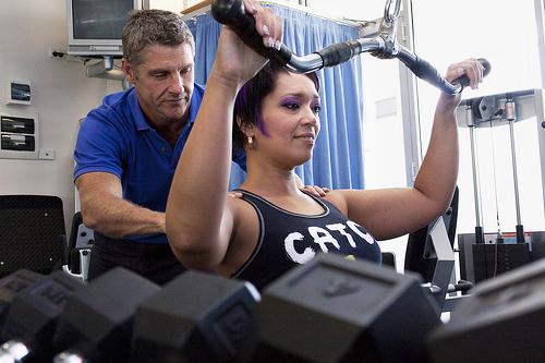 Gym client