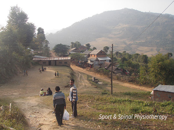 Nepal--village-2