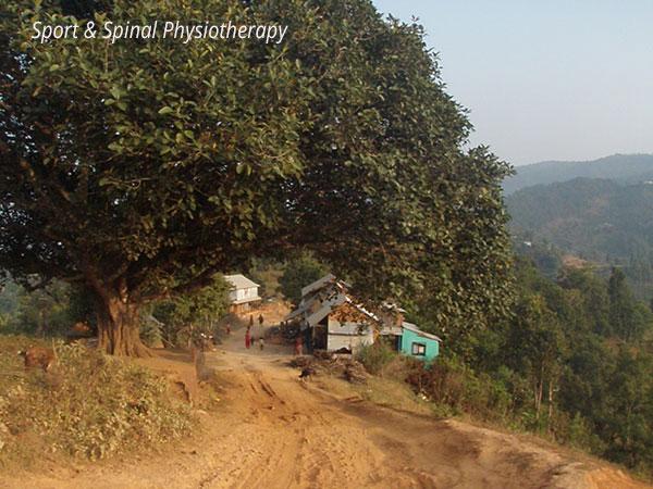Nepal--village
