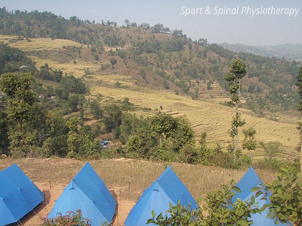 nepal-volunteer-tents
