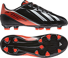 molded stud football boots