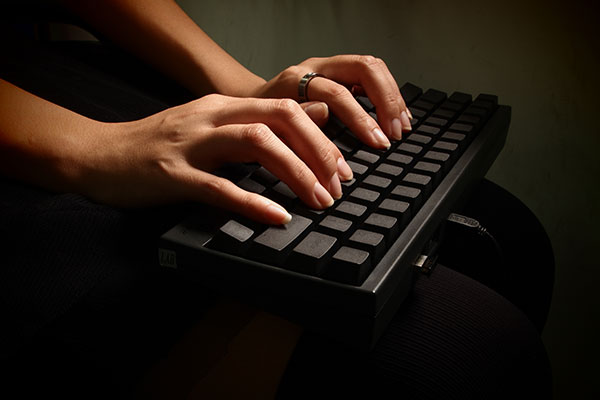 correct keyboard angle
