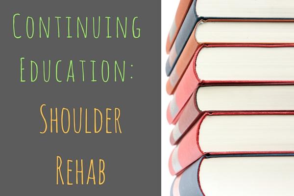 Physiotherapy shoulder rehabilitation
