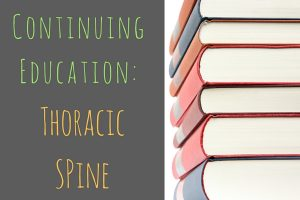 Continuing Education: Thoracic Spine