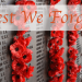 ANZAC: Lest We Forget