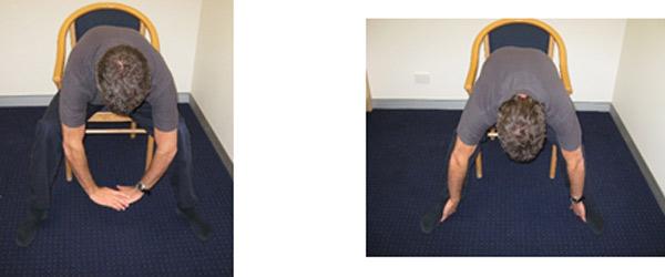 Flexion in Sitting