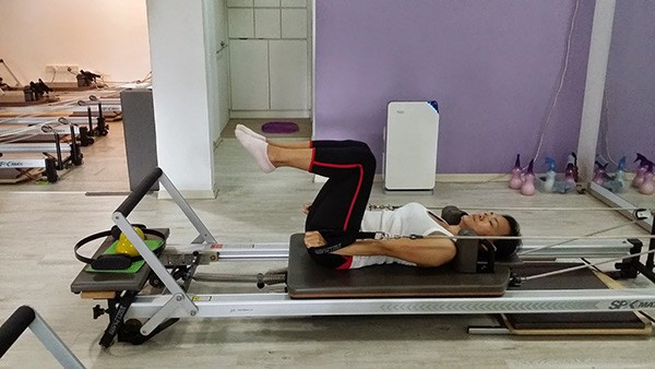 reformer exercise arms