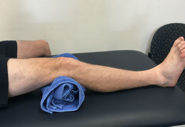 Knee contractions ACL Rehab Stretch