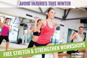 Stretch Workshop Wrap Up!
