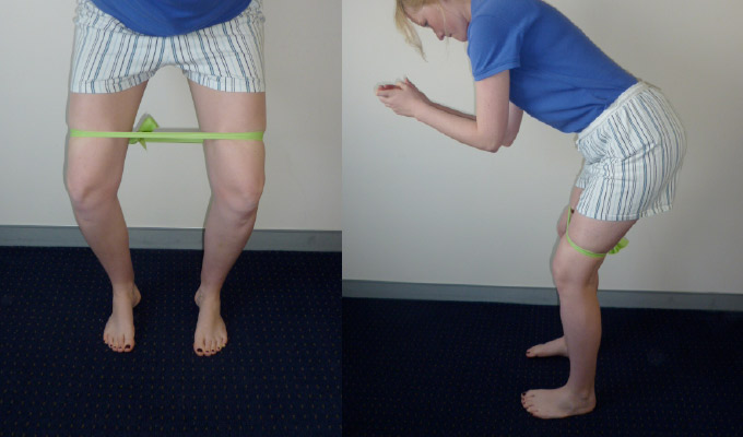 Standing Clams ACL Rehab exercises
