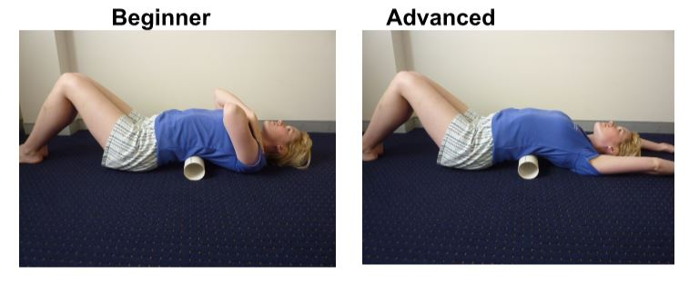 Pipe Rolling - Thoracic extension