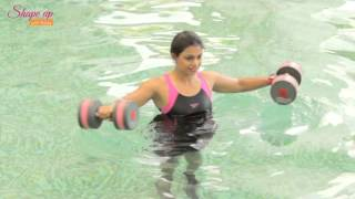 hydrotherapy dumbells