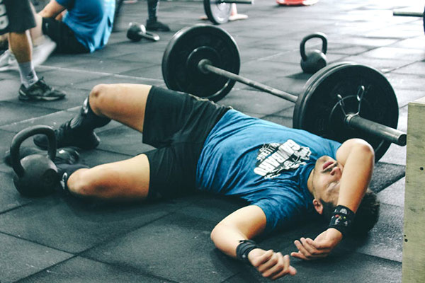 overtraining at gym