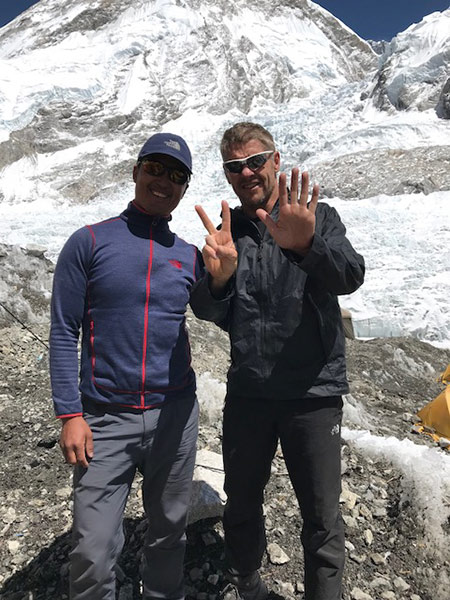 Mingmar - Nepalese guide