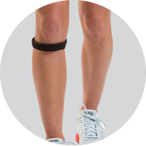 Cho-pat knee strap for Osgood-Schlatter