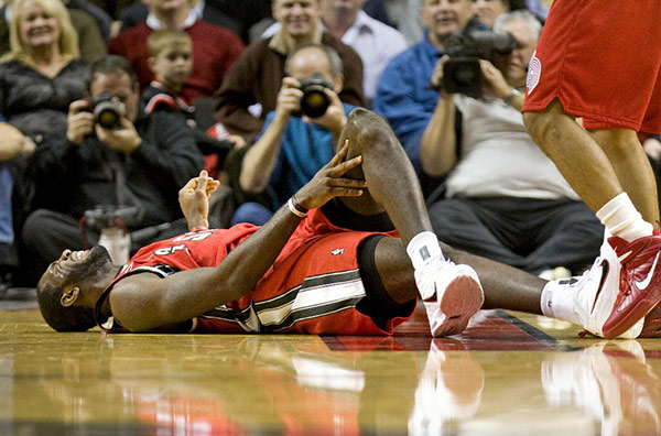 Osgood-Schlatter common for basketball players