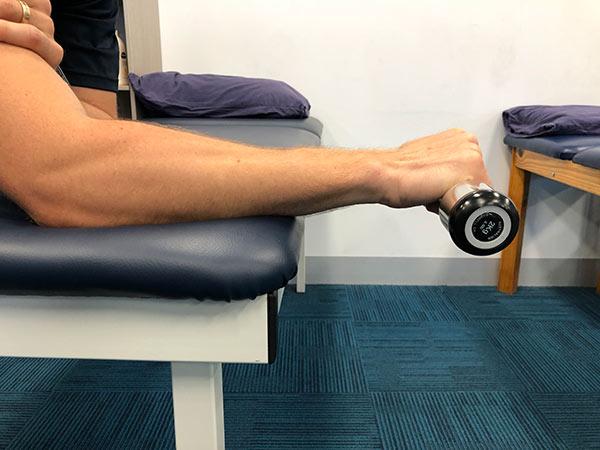 isometric exercise wrist extension