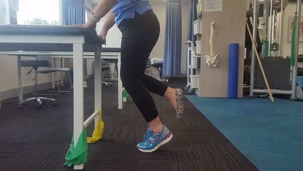 Isometric hold for Plantar Fasciitis