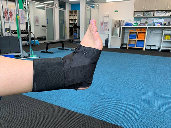 Ankle Brace Netball injury