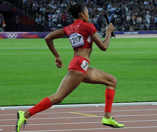 Sprinter hamstring injuries